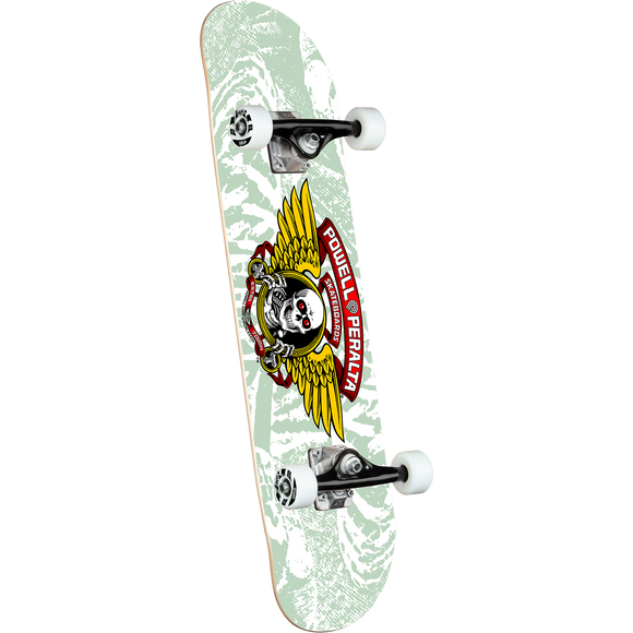 Powell Peralta Winged Ripper Complete Skateboard -8.0 White