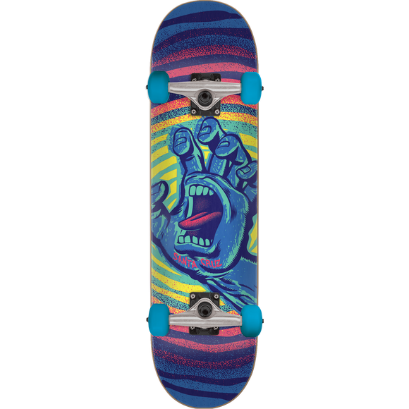 Santa Cruz Off Hand Complete Skateboard -6.75 Blue