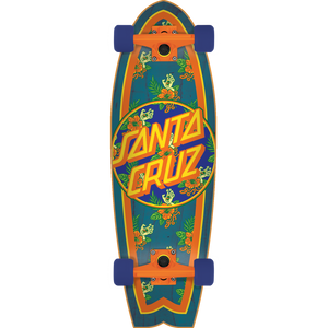 Santa Cruz Vacation Dot Shark Cruiser Complete Skateboard -8.8x27.7