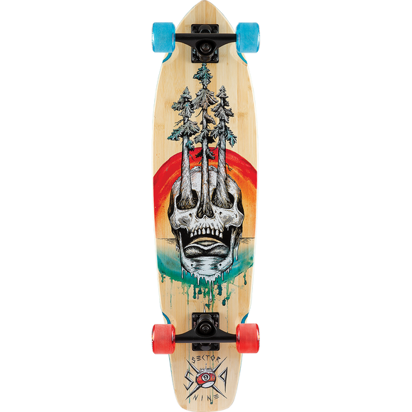 Sector 9 Bamboo Danger Ft. Point Complete Skateboard -8.7x34
