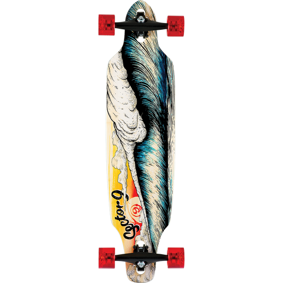 Sector 9 Bamboo Macking Mini Lookout Complete Longboard Skateboard -9.25x37.5