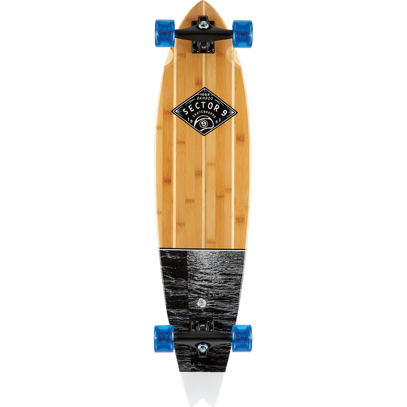 Sector 9 Bamboo Torrent Offshore Complete Skateboard -9.37x39.5
