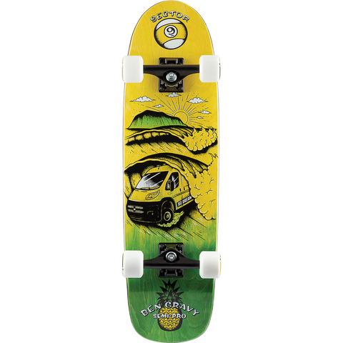 Sector 9 Dream Gravy Semi Pro Complete Skateboard -8.8x31.5