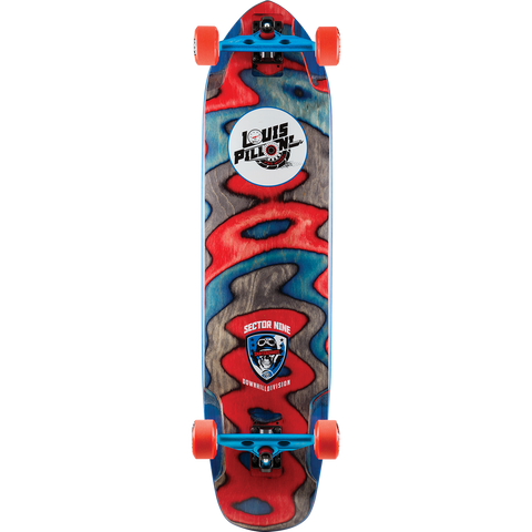 Sector 9 Louis Pilloni Ripped Complete Longboard Skateboard -9.75x39.5