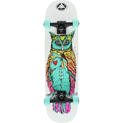 Welcome Heartwise Complete Skateboard -7.75x31.25 White