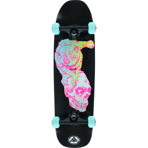 Welcome Loris Loughlin Sloth Complete Skateboard -8.25x31.5 Black