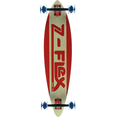 Z-Flex Pintail Complete Skateboard -9x38 Moving Sidewalk Red