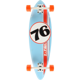 Z-Flex Mini Pin Complete Skateboard -9x32 Lt.Blue/Orange/White