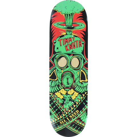 All I Need Knuth War Machine Skateboard Deck -8.3 DECK ONLY | Universo Extremo Boards Skate & Surf