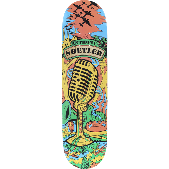 All I Need Shetler The Voice Deck -8.1 Skateboard DECK + GRIPTAPE | Universo Extremo Boards Skate & Surf