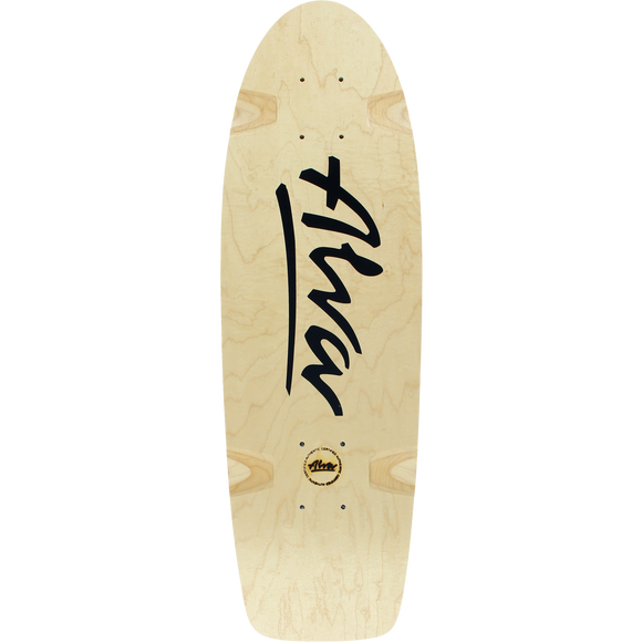 Alva Bela Reissue Skateboard Deck -8.5x27 Natural/Black DECK ONLY | Universo Extremo Boards Skate & Surf