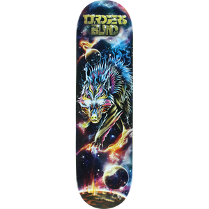 Blind Rogers Cosmic Wolf Deck -8.25 Resin7 Assembled as COMPLETE Skateboard | Universo Extremo Boards Skate & Surf