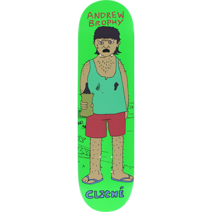Cliche Brophy Damo And Darren Deck -8.12 R7 Assembled as COMPLETE Skateboard | Universo Extremo Boards Skate & Surf
