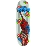 Cliche Rogriguez Drill Deck 9.0 Transfer Assembled as COMPLETE Skateboard | Universo Extremo Boards Skate & Surf