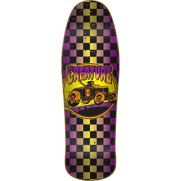 Creature Hot Rod Skateboard Deck -9.57x31.75 Everslick