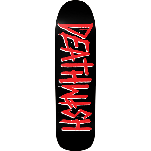 Deathwish Death Tag Skateboard Deck -8.62 Black/Red