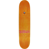 Deathwish Gang Logo Skateboard Deck -8.25 Black/Red