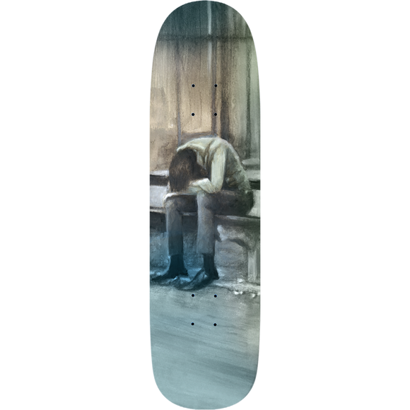 Deathwish It Never Ends Skateboard Deck -9.6