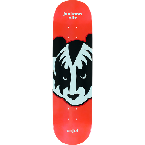 Enjoi Pilz Kiss Metallic Skateboard Deck -8.12 R7 Red DECK ONLY