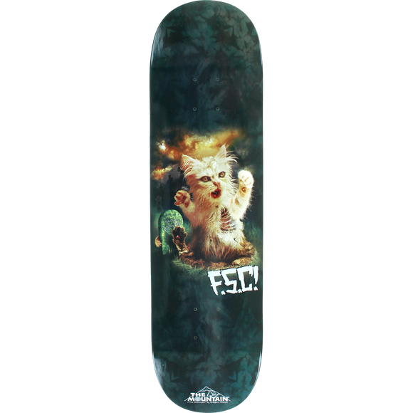Fsc Fluffy Satanic Cat Skateboard Deck -8.12