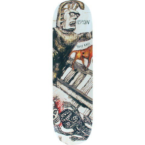 Heroin Karr Enemy Ritual Skateboard Deck -8.38  DECK ONLY