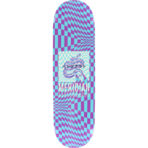 Meridian Maybe Monday Skateboard Deck -8.5 Blue/Pur DECK ONLY