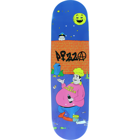 Pizza Toy Skateboard Deck -8.12 DECK ONLY