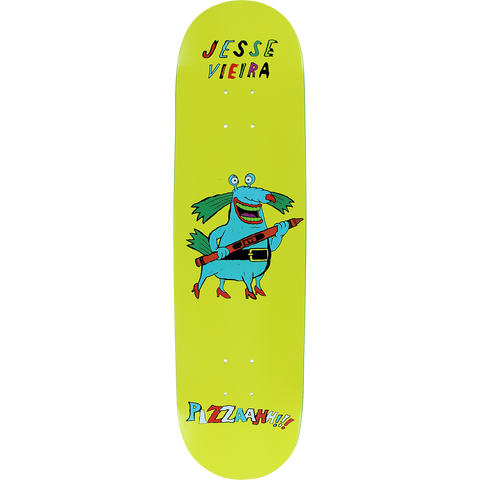 Pizza Vieira Monster Skateboard Deck -8.12 DECK ONLY