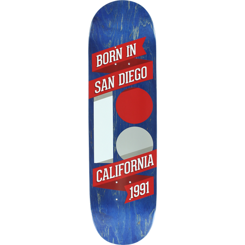 Plan B Born In Sd Skateboard Deck -8.3 DECK ONLY