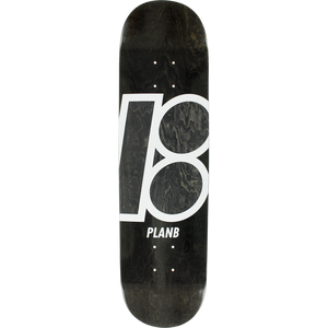 Plan B Stained Skateboard Deck -8.1 Black