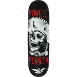 Powell Peralta Te Chingaste Skateboard Deck -8.5 Black/White/Red DECK ONLY | Universo Extremo Boards Skate & Surf