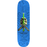 Powell Peralta Paul Rodriguez Skull & Sword Skateboard Deck -8.0 Blue DECK ONLY | Universo Extremo Boards Skate & Surf