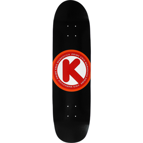 Prime Markovich Circle K Skateboard Deck -8.12 Black DECK ONLY