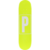 Preservation Brand Id Deck -7.75 Yellow Assembled as COMPLETE Skateboard | Universo Extremo Boards Skate & Surf
