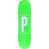Preservation Brand Id Deck -8.12 Green Assembled as COMPLETE Skateboard | Universo Extremo Boards Skate & Surf
