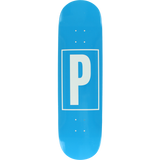 Preservation Brand Id Deck -8.5 Blue Assembled as COMPLETE Skateboard | Universo Extremo Boards Skate & Surf