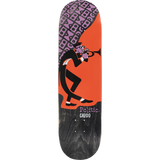 Politic Caddo Jazz Skateboard Deck -8.0
