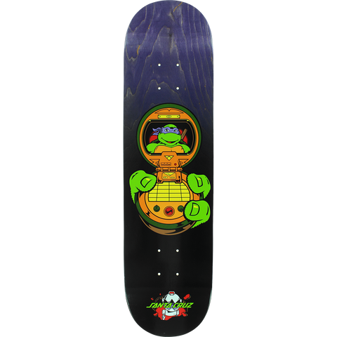 Santa Cruz Tmnt Donatello Skateboard Deck -8.12 DECK ONLY