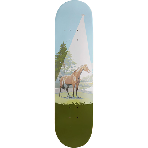 Skate Mental John Motta Horse / Books Skateboard Deck -8.12 DECK ONLY