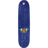 Toy Machine Monster Mini Skateboard Deck -7.38 Purple Stain