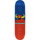 Toy Machine Monster Skateboard Deck -7.75 Blue Stain