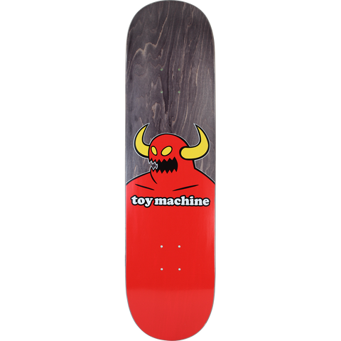 Toy Machine Monster Skateboard Deck -8.38 Black Stain DECK ONLY