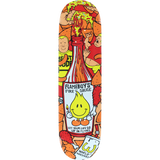 World Industries Flameboy Fire Sauce Skateboard Deck -8.0