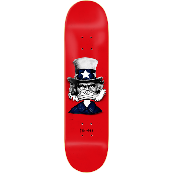 Zero Thomas Iconoclash Skateboard Deck -8.5
