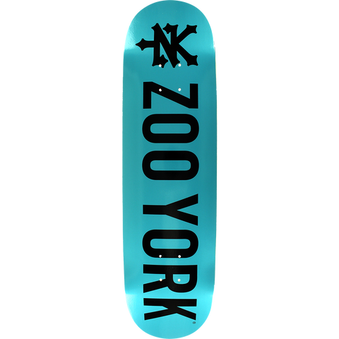 Zoo Photo Incentive Midnight Skateboard Deck -8.0 Blue/Black DECK ONLY