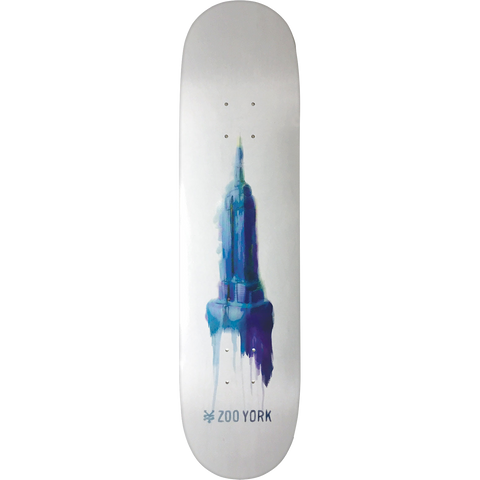 Zoo Water Color Empire Skateboard Deck -8.25 DECK ONLY