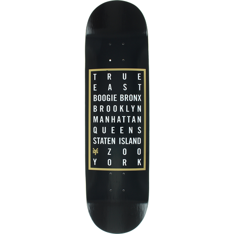 Zoo Where You From Skateboard Deck -8.25 DECK ONLY