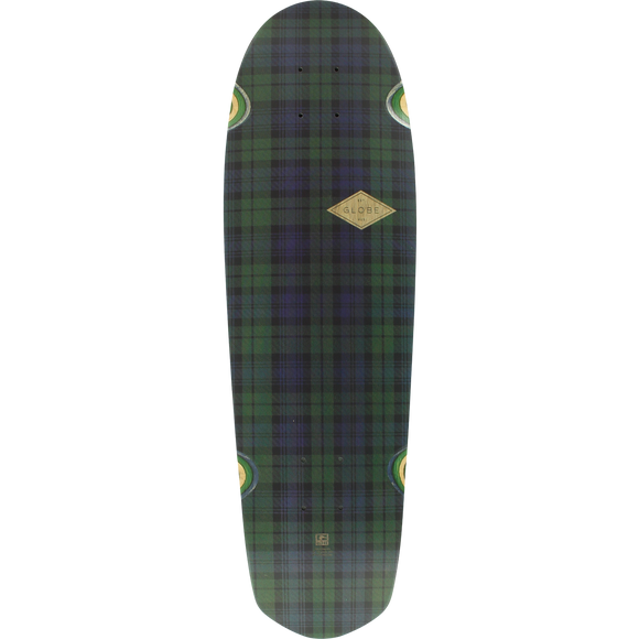 Globe Pusher Longboard Deck -8.75x29.5 School Girl Plaid DECK ONLY | Universo Extremo Boards Skate & Surf