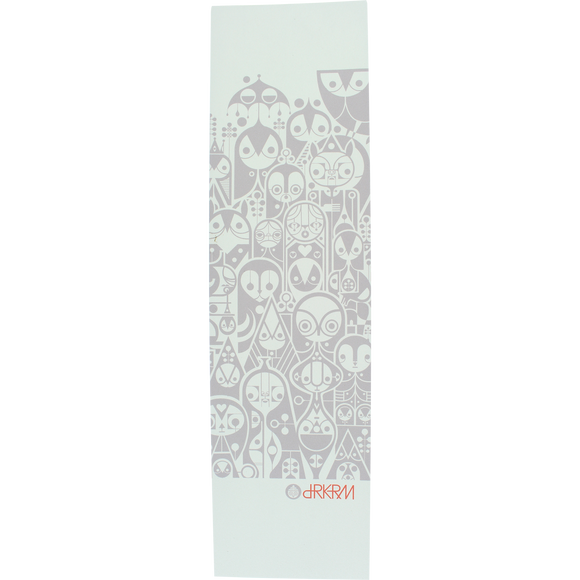 Darkroom - GRIPTAPE Single Sheet Census White - 9''x33''