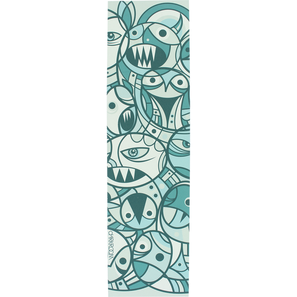 Darkroom - GRIPTAPE Single Sheet Chaos Green - 9''x33''